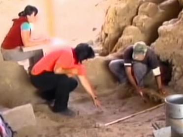 Archeologové v severním Peru