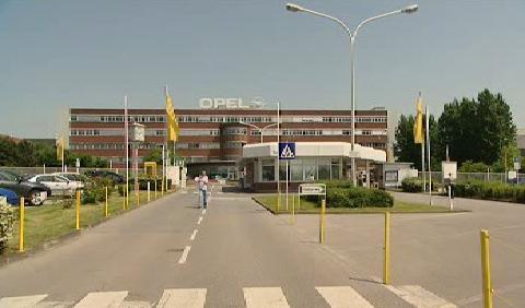 Budova automobilky Opel