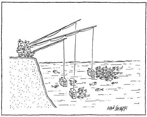 Karikatura Ivana Steigera