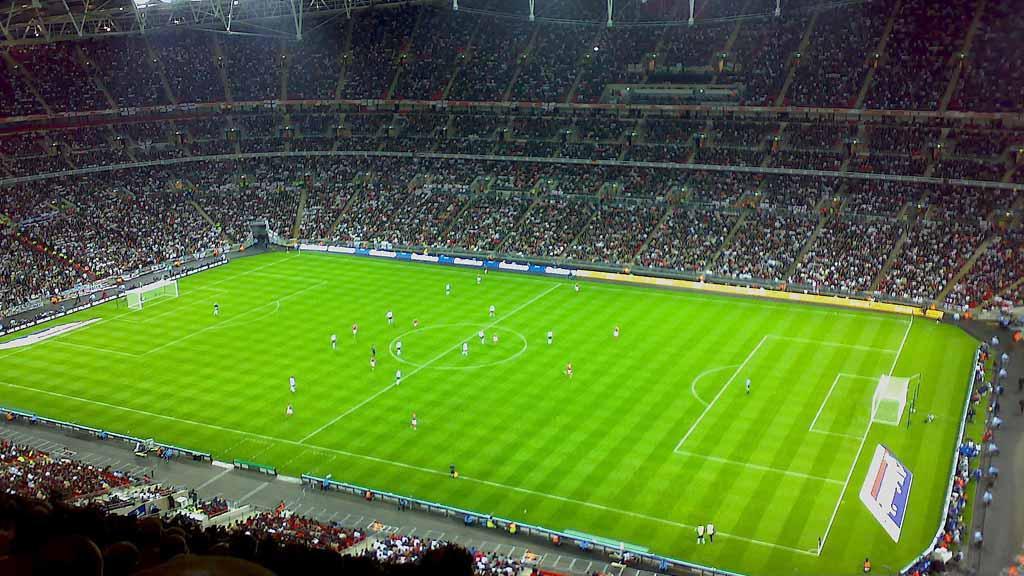 Fotbalový stadion ve Wembley