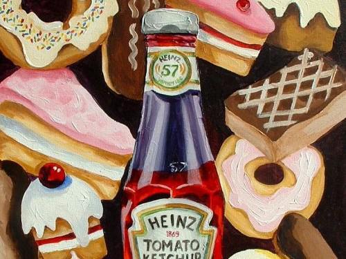 Orla Walshová: Cakes & Ketchup