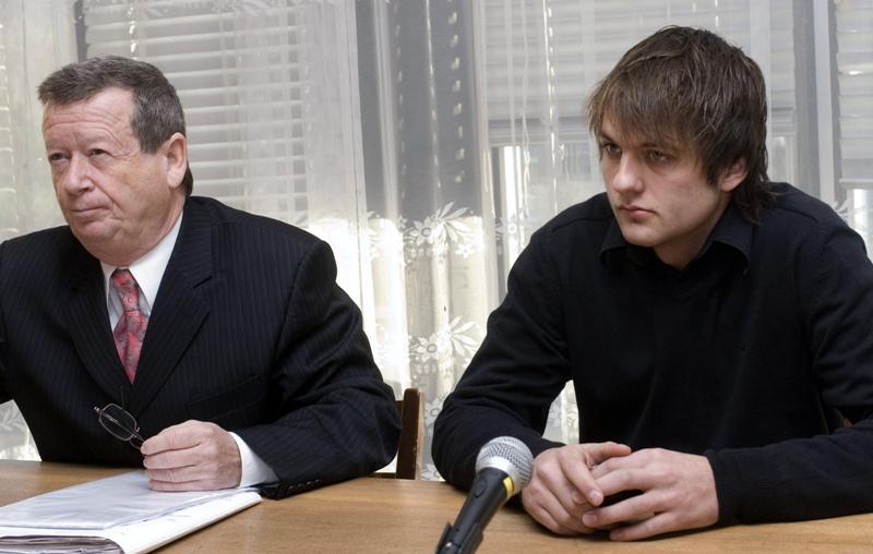 Jakub Závora s advokátem