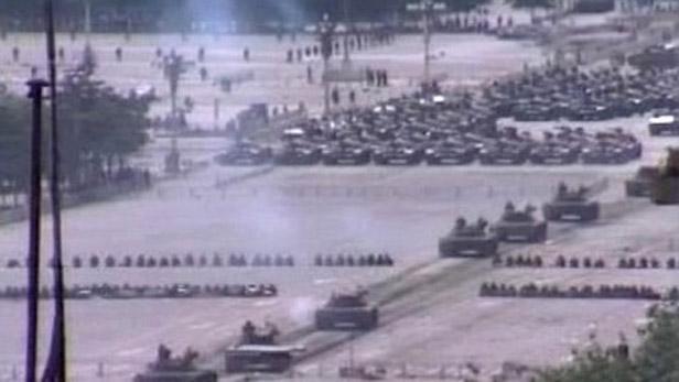 Zásah armády na náměstí Tchien-an-men