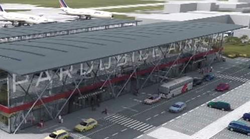 Pardubické letiště – vizualizace