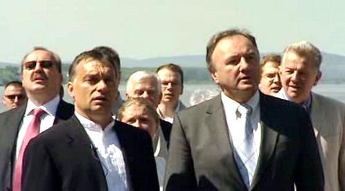 Viktor Orbán a Pál Csáky