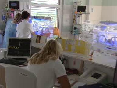 Porodnické oddělení hořovické nemocnice