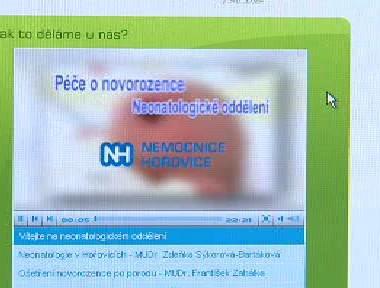 Ukázka videoprogramu