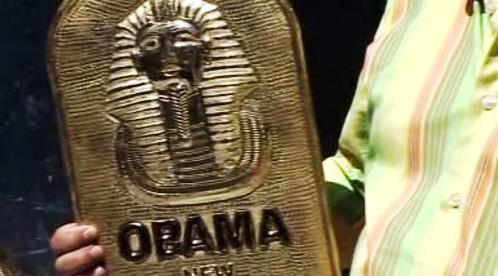 Obama jako Tutanchámon