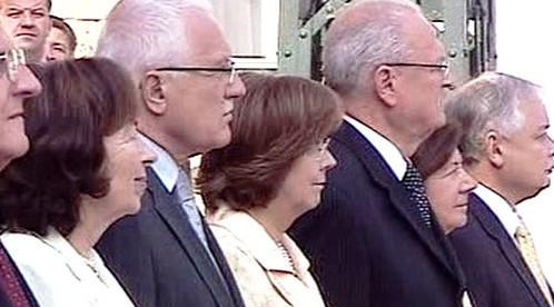 Prezidenti států Visegrádské čtyřky