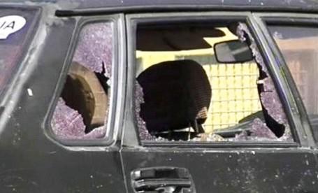 Výbuch na Ukrajině