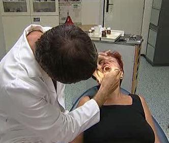 Vyšetření u zubaře
