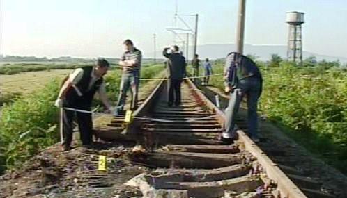 Výbuch poškodil koleje v Gruzii