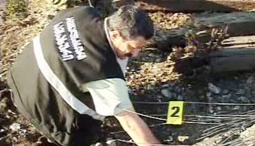Vyšetřování výbuchu na kolejích