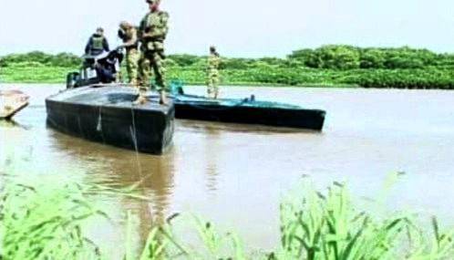 Zadržené ponorky pašeráků drog