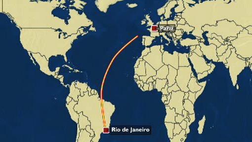 Let z Ria de Janeira do Paříže