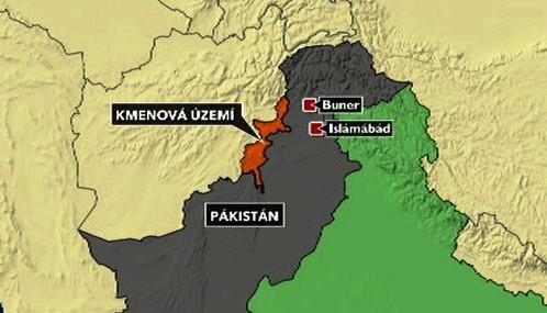 Kmenová území v Pákistánu
