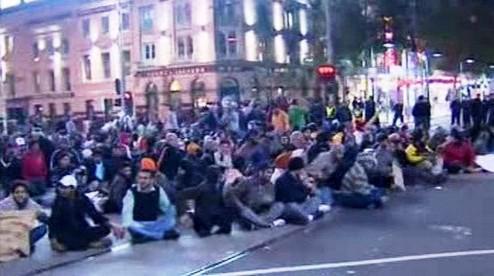 Protest indických studentů