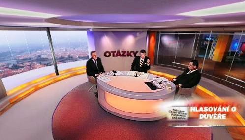 Mirek Topolánek a Jiří Paroubek v OVM