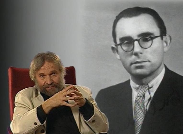 Teatrolog a publicista PhDr. Vladimír Just a inscenátor procesu Karel Klos z ÚV KSČ