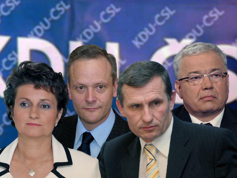 Kandidáti na vedoucího KDU-ČSL