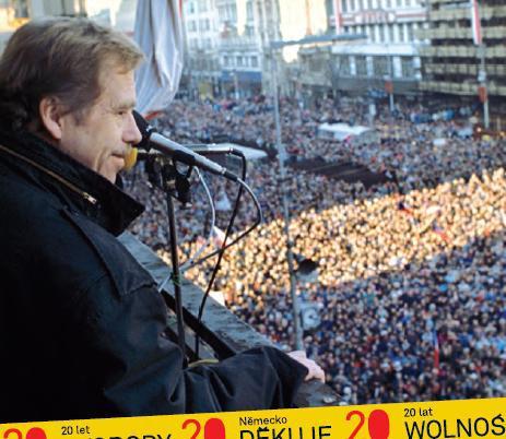 Z projektu 20 let svobody. Německo děkuje