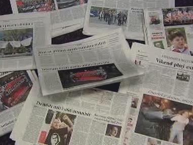 Noviny informují o extremismu