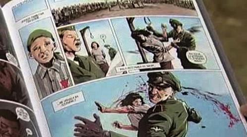 Komiks Láska ve stínu smrti