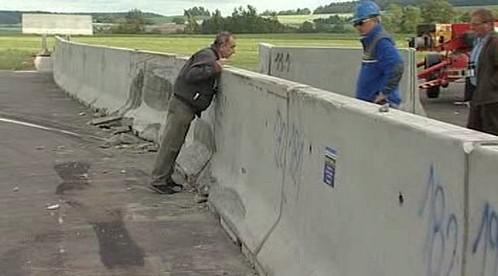 Betonová svodidla