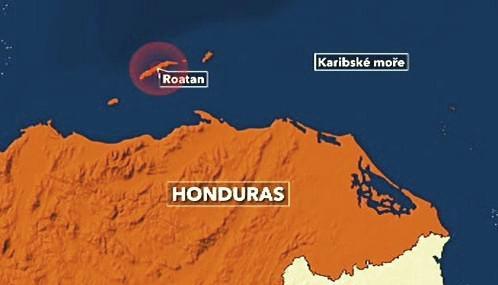 Ostrov Roatan zasáhlo zemětřesení