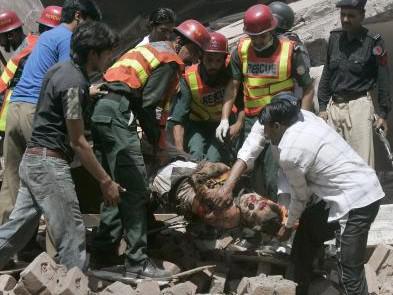 Oběť útoku v Láhauru