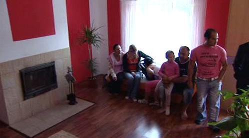 Dům romské rodiny ve Zdibech