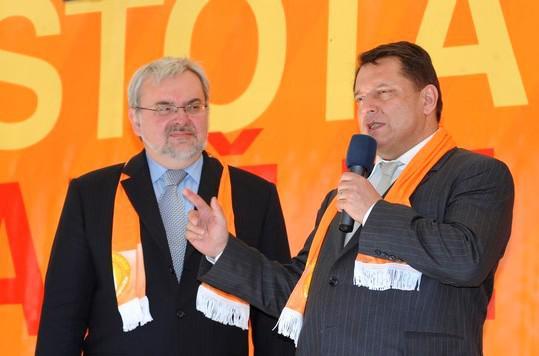 Zahájení kampaně ČSSD