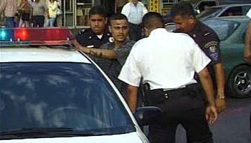Zásah mexické policie