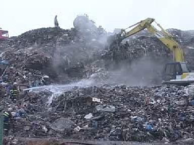 Skládka komunálního odpadu