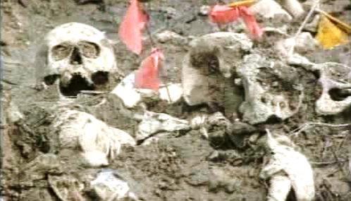Hromadný hrob v bosenské Mršići