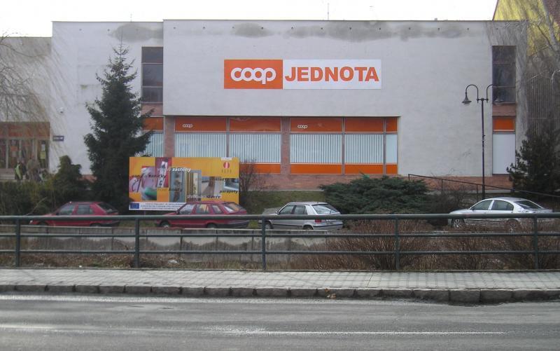 Prodejna Coop ve Slavičíně