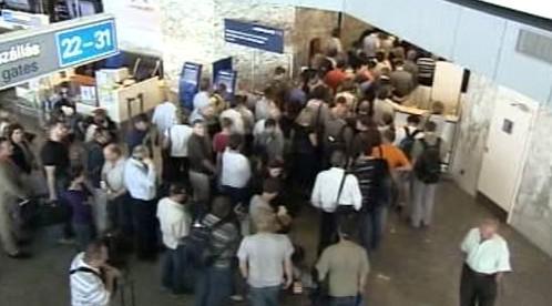 Kolaps letiště v Budapešti