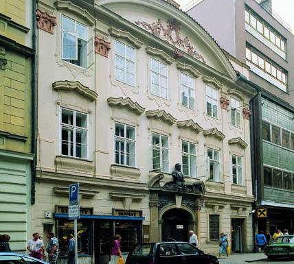 Sídlo Památníku Františka Palackého a Františka Ladislava Riegra