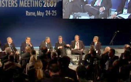 Setkání energetických ministrů zemí G8