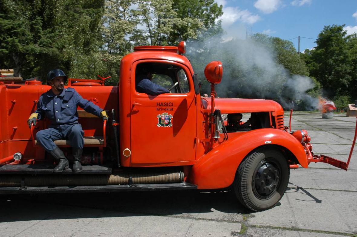 130 let hasičů na Křivoklátě