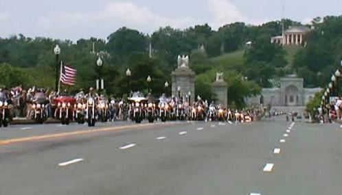 Jízda za svobodu amerických motorkářů