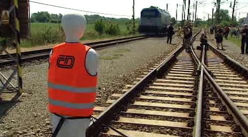 Testování brzd vlaků