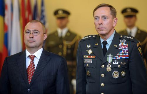 Martin Barták a David Petraeus