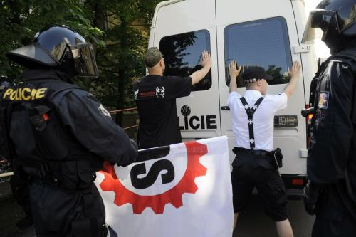 Zadržení stoupenců Dělnické strany