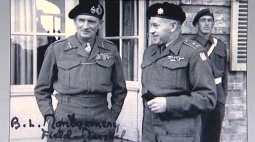 Generál Alois Liška (vpravo)