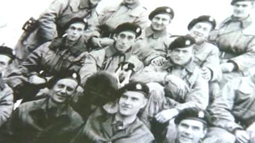 Českoslovenští vojáci z bojů u Dunkerque