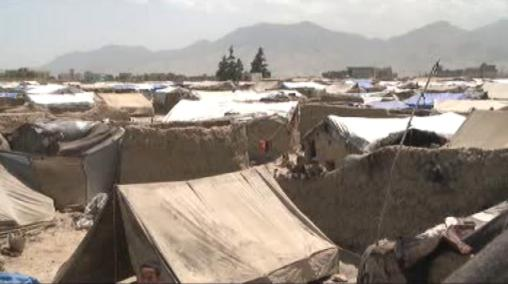 Afghánský uprchlický tábor