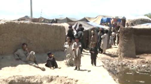 Děti v uprchlickém táboře