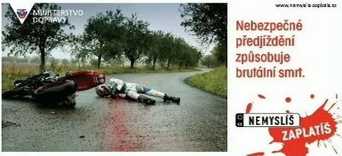 Kampaň ministerstva dopravy