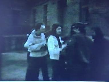 Záběry z dobového amatérského filmu